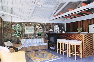 rental villa virgin islands st john main living space